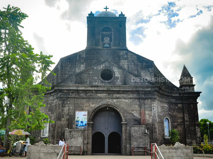 Tiwi Church in Albay, Philippines