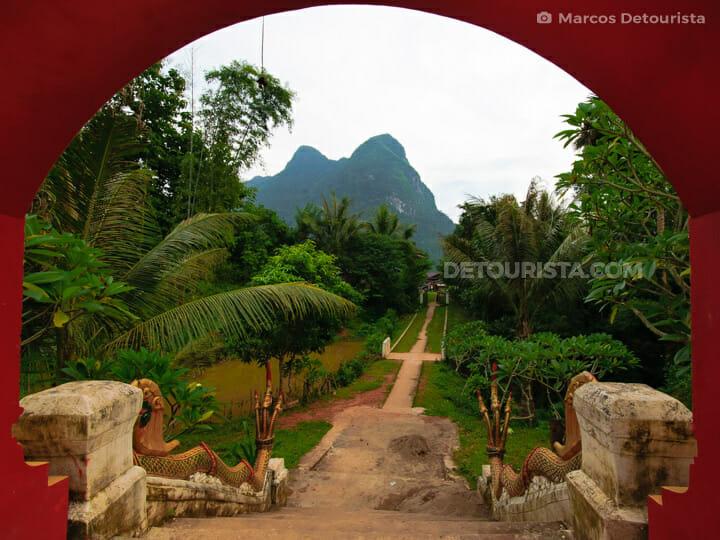 Vat Okad Sayaram Temple, Muang Ngoi Neua, Laos