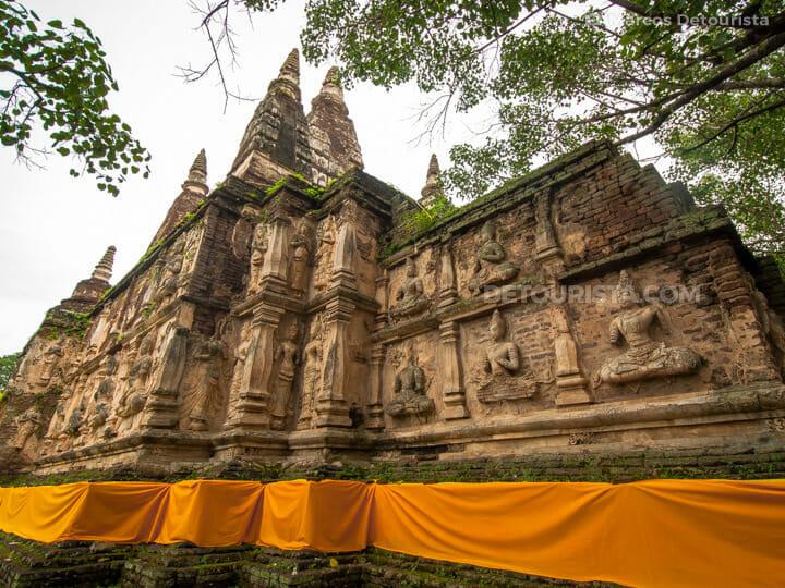 Wat Chet Yot in Chiang Mai, Thailand