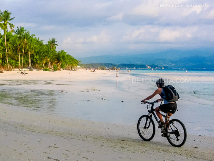 Boracay bicycle tour