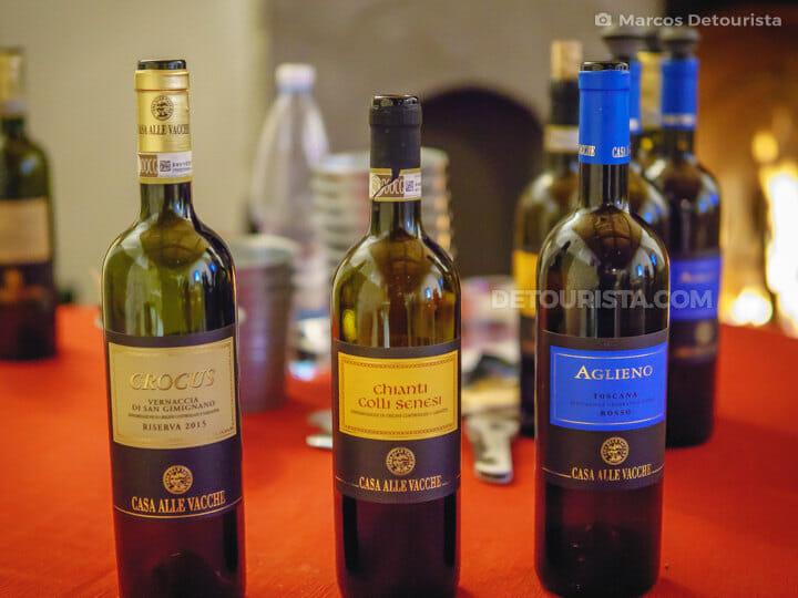 Wine tasting in Chianti, Tuscany, Italy