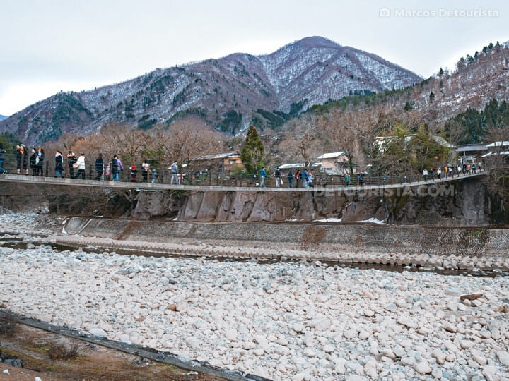 Deai Bridge, Shirakawa-go