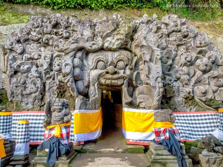 Goa Gajah (Elephant Cave) temple