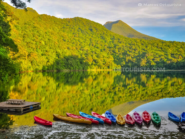 Lake Bulusan in Bulusan, Sorsogon, Philippines
