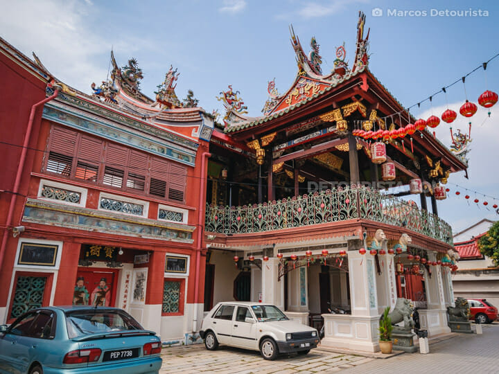 Seh Tek Tong Cheah Kongsi Clan Temple