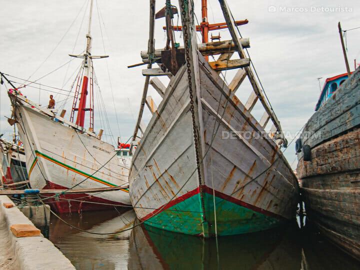Sunda Kelapa Port in Jakarta, Indonesia
