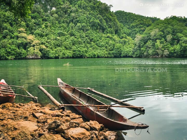 Tiktikan Lake, Bucas Grande Island