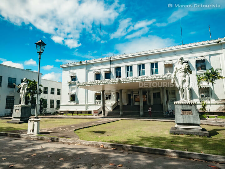 University of the Philippines - Tacloban Campus in Tacloban City, Leyte, Philippines