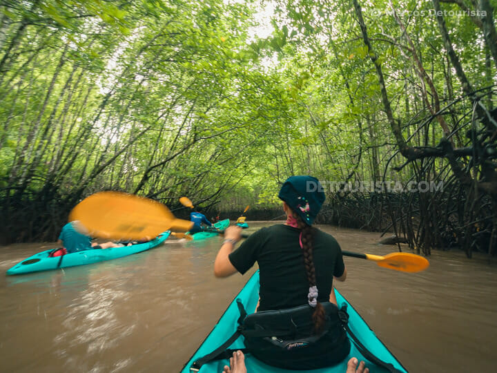 Ao Tha Lane kayak tour