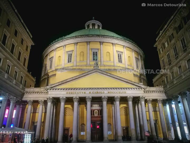 Basilica of San Carlo al Corso in Milan, Italy