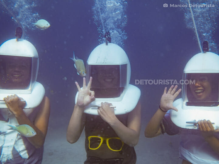 Boracay Helmet Diving