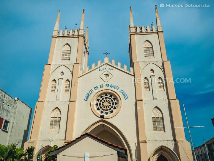 Church of St. Francis Xavier, Melaka