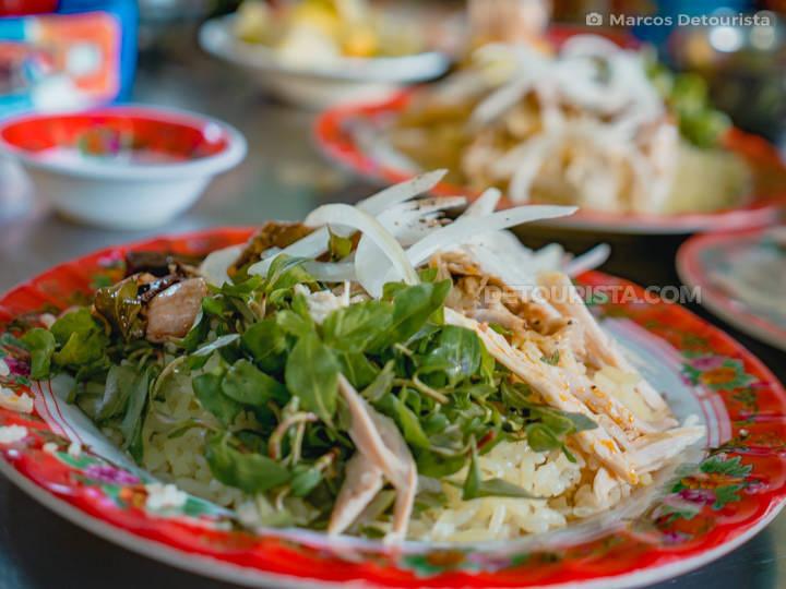 Com Ga (Rice Chicken) in Ba Buoi Restaurant