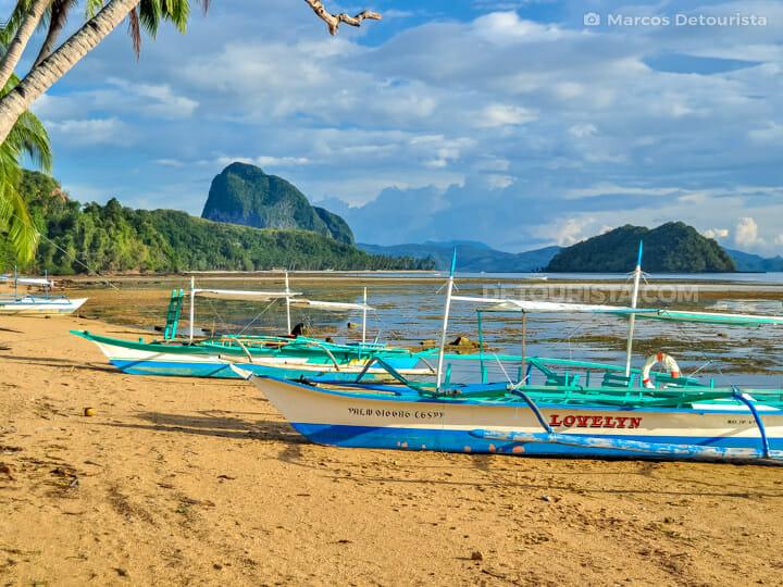 Corong-Corong & Marimegmeg Beach, El Nido