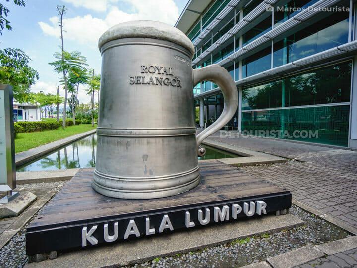 Giant Tankard at Royal Selangor Visitor Centre in Kuala Lumpur, Malaysia
