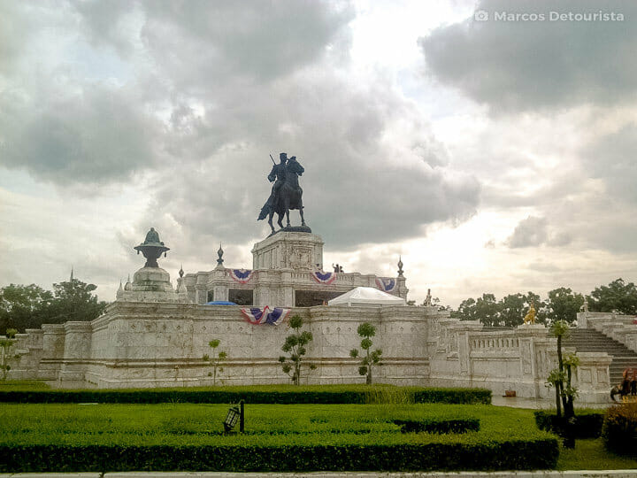 King Naresuan The Great Monument in Ayutthaya, Thailand