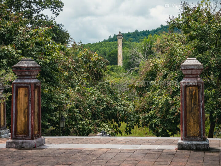 Lang Gia Long (tomb) in Hue, Vietnam