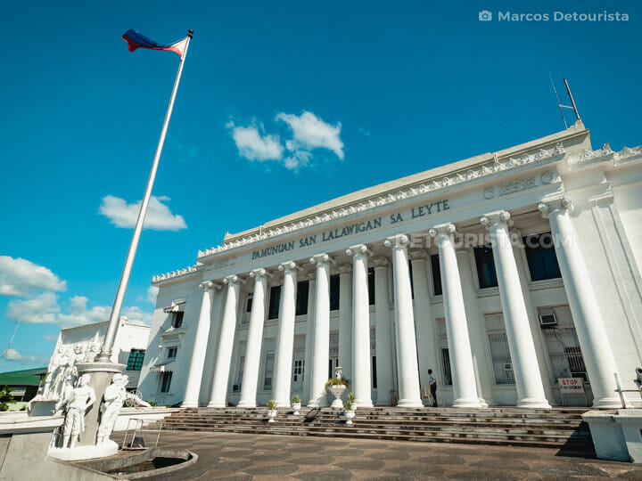 Leyte Provincial Capitol in Tacloban City, Leyte, Philippines