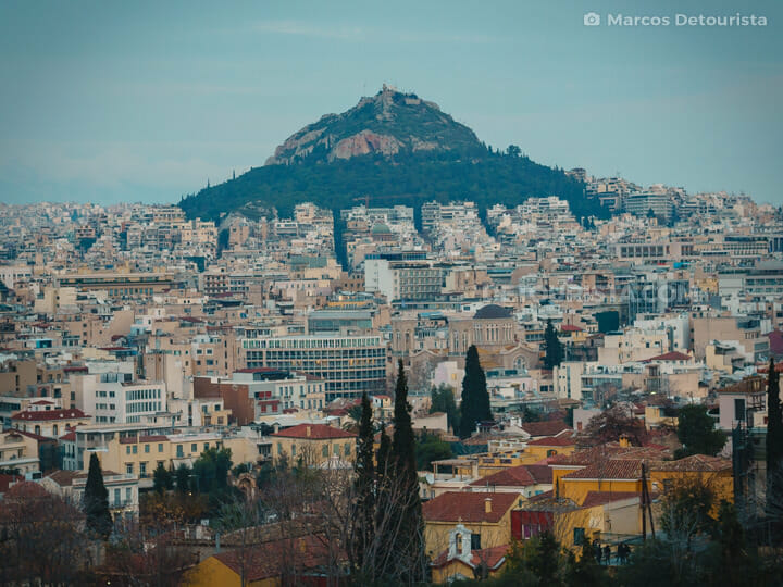 Lycabettus Hill, Athens