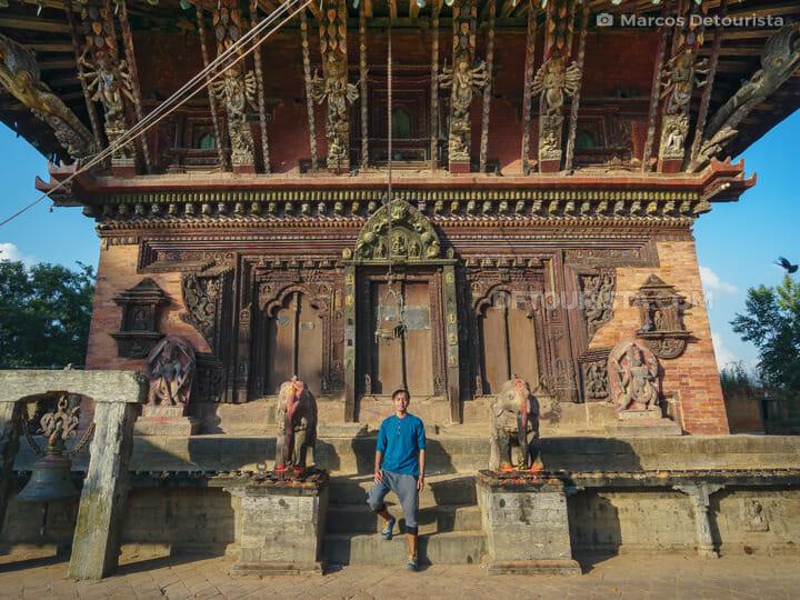 Changu Narayan temple in Bhaktapur, Nepal
