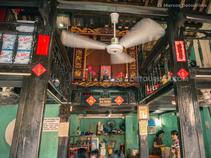Inside Ba Buoi Restaurant