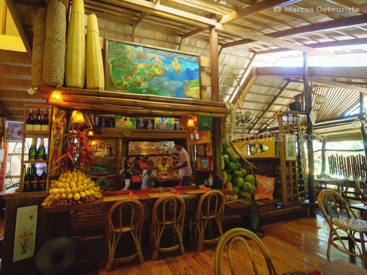 Kalui Restaurant in Puerto Princesa City, Palawan, Philippines
