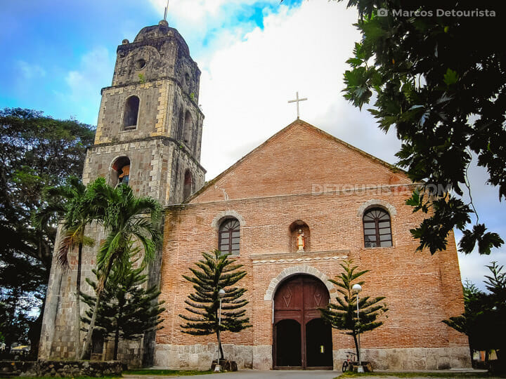 San Agustin Church in Bacong, Negros Oriental, Philippines