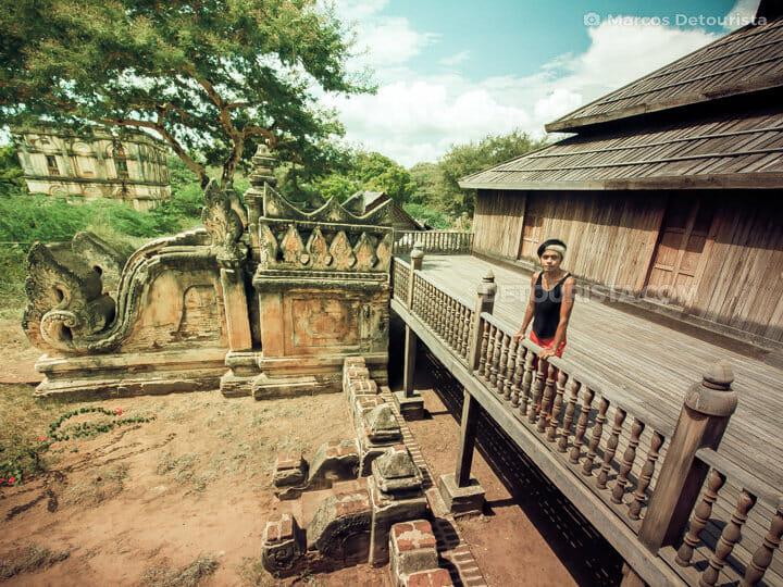 Taung Bi wooden monastery