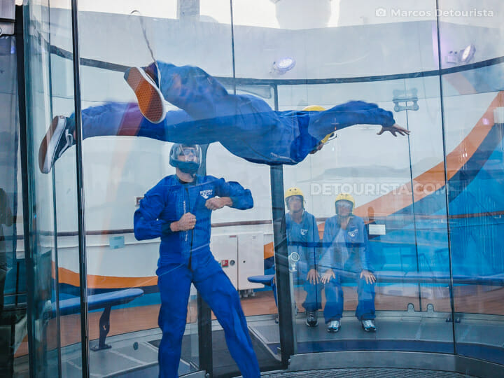 Ripcord by iFly - Quantum of the Seas by Royal Caribbean