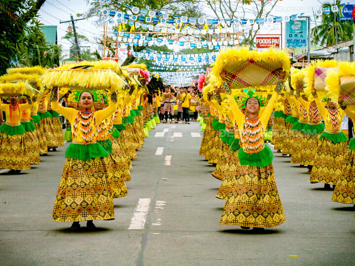 Aurora Day parade, in Baler, Aurora, Philippines