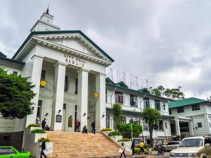 Baguio City Hall in Baguio City, Benguet, Philippines