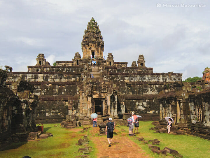 Bakong Temple in Rolous Temple Group, Siem Reap, Cambodia