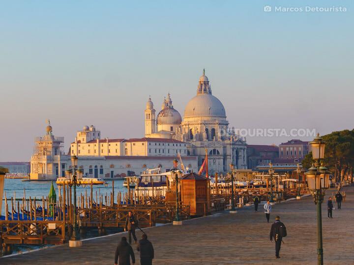 Basilica di Santa Maria della Salute in Venice, Italy