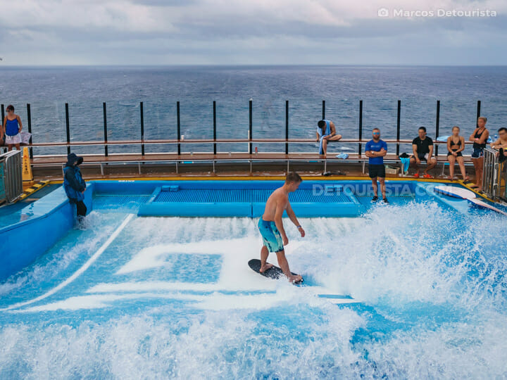 FlowRider - Quantum of the Seas by Royal Caribbean