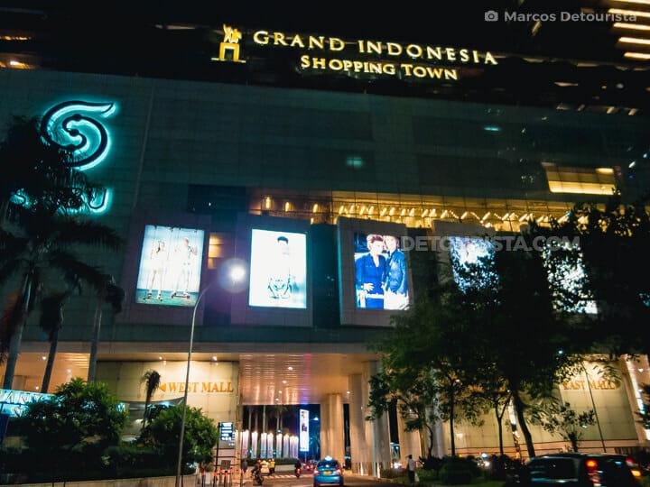 Grand Indonesia mall in Jakarta, Indonesia