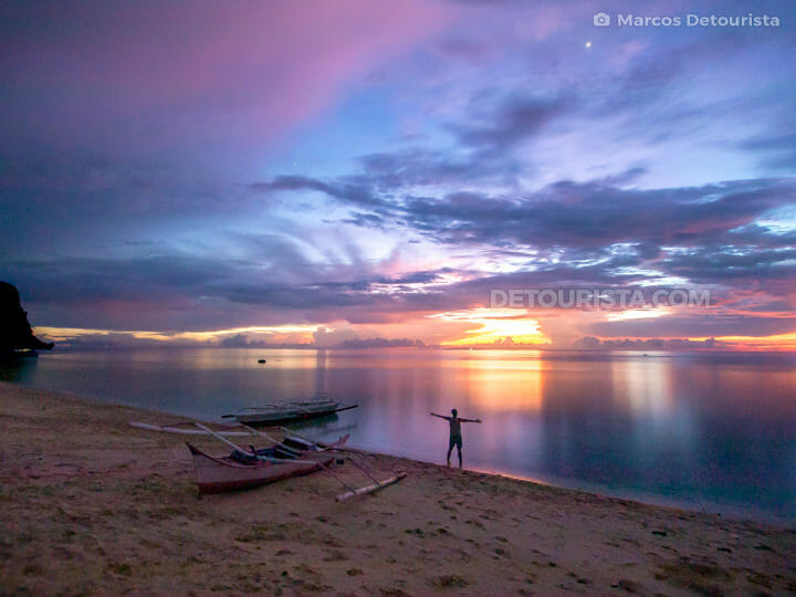 Marcos at Hinugtan Beach