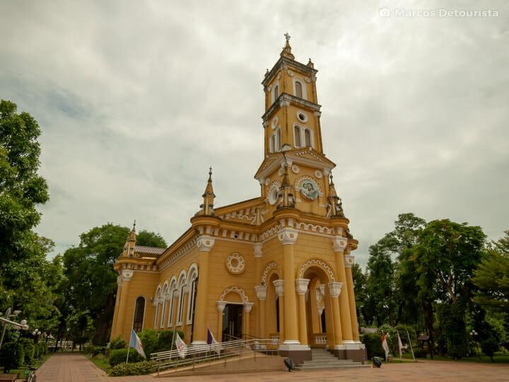 Saint Joseph Catholic Church in Ayutthaya, Thailand
