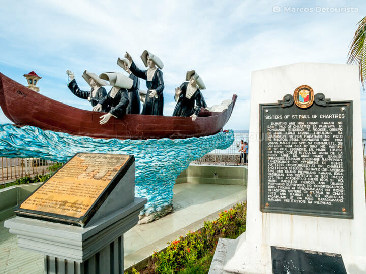 Sisters of St. Paul of Chartres Monument, along Rizal Boulevard,
