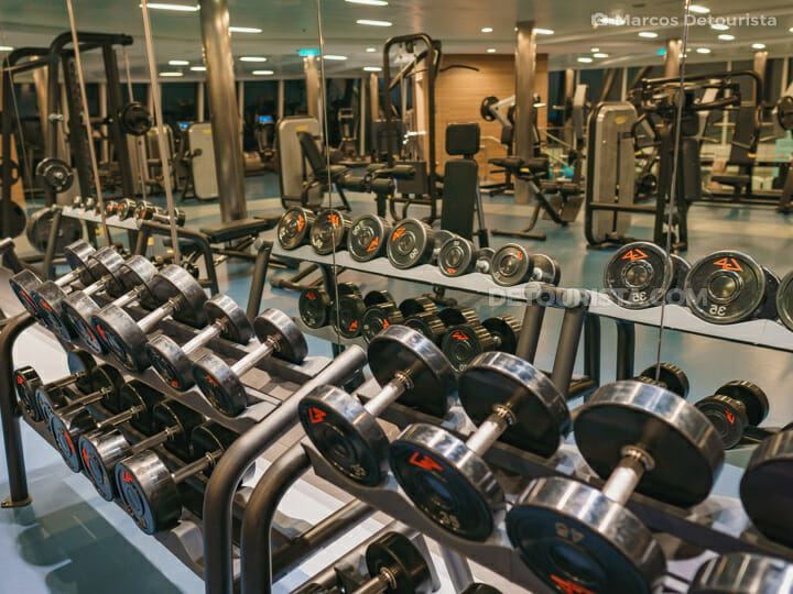 Fitness Gym - Quantum of the Seas by Royal Caribbean
