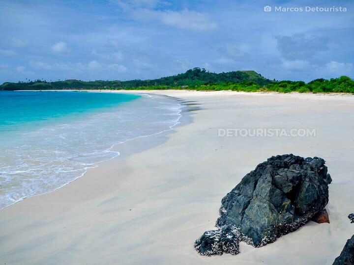 Mahabang Buhang Beach in Calaguas Island, Vinzons, Camarines Nor