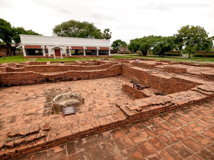 Portuguese Village in Ayutthaya, Thailand
