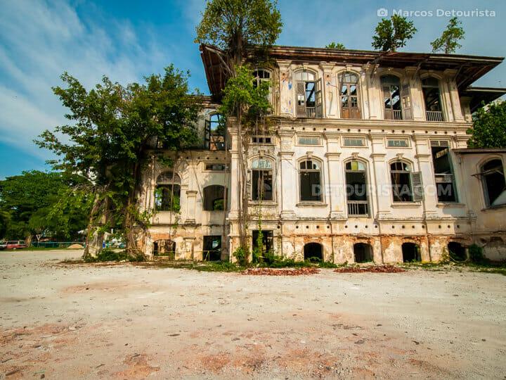 Abandoned Shih Chung Branch School building