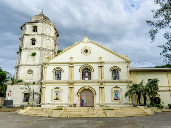 Cabugao Church in Ilocos Sur, Philippines