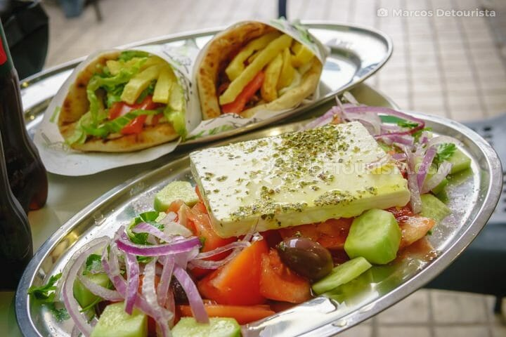 Greek Salad & Gyros