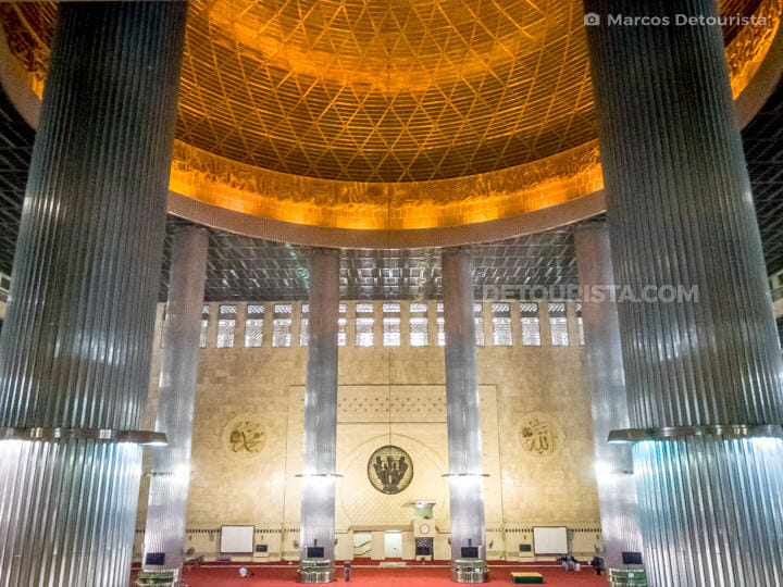 Istiqlal Mosque main dome