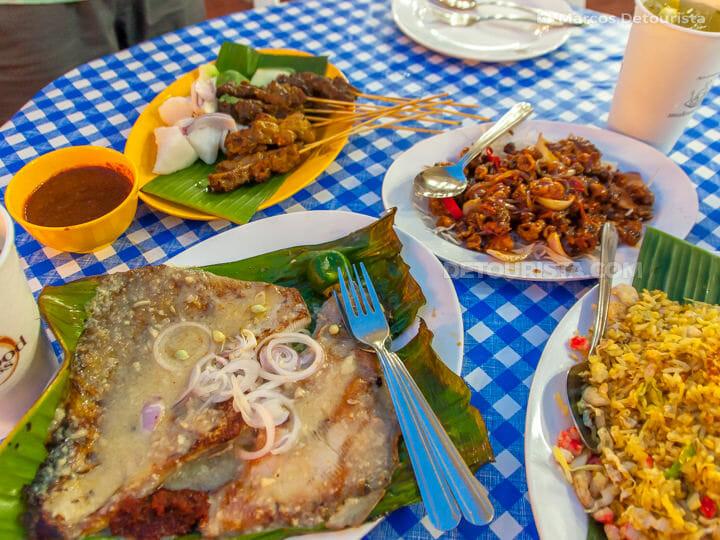 Makansutra Singaporean food