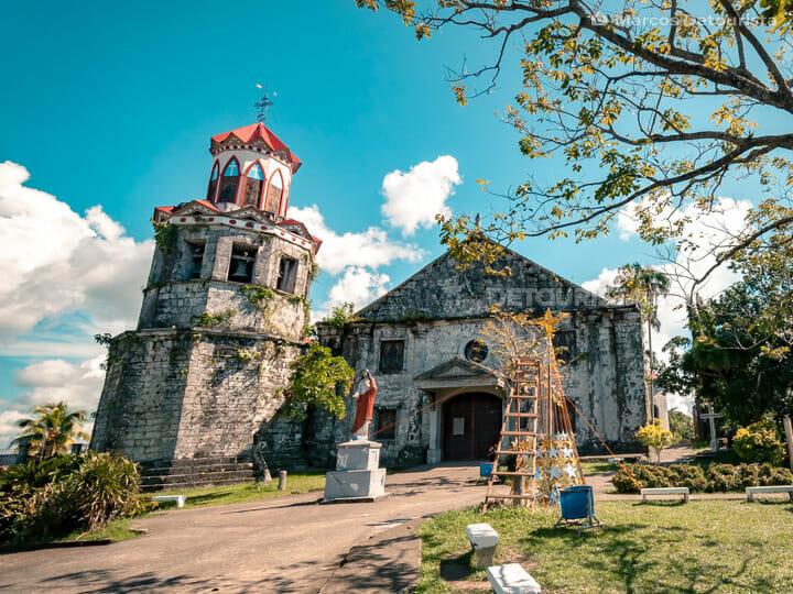 Basey Church (Saint Michael the Archangel Church) in Basey, Samar, Philippines
