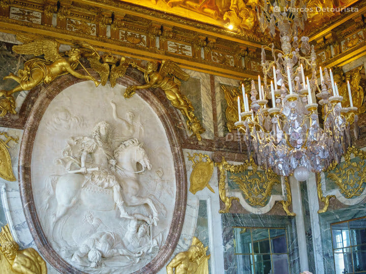 Palace of Versailles near Paris, France