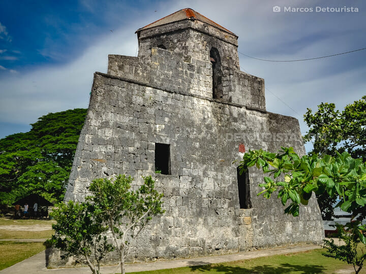 Punta Cruz Watchtower in Maribojoc, Bohol, Philippines