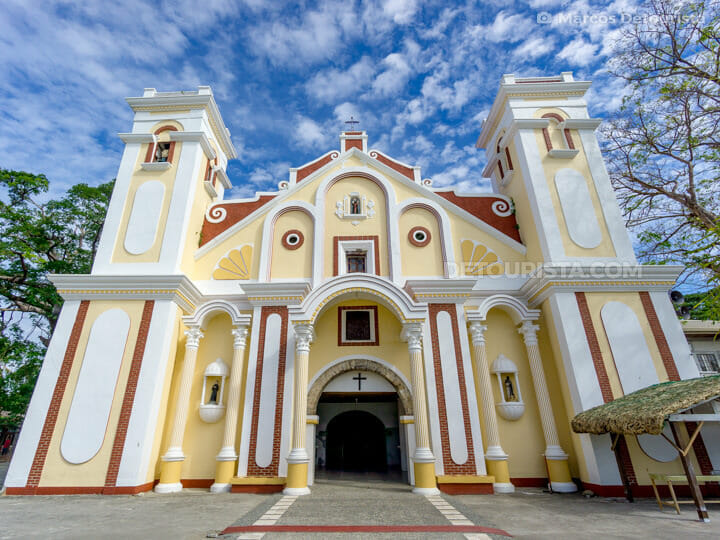 St. Nicolas Parish Church in Sinait, Ilocos Sur, Philippines